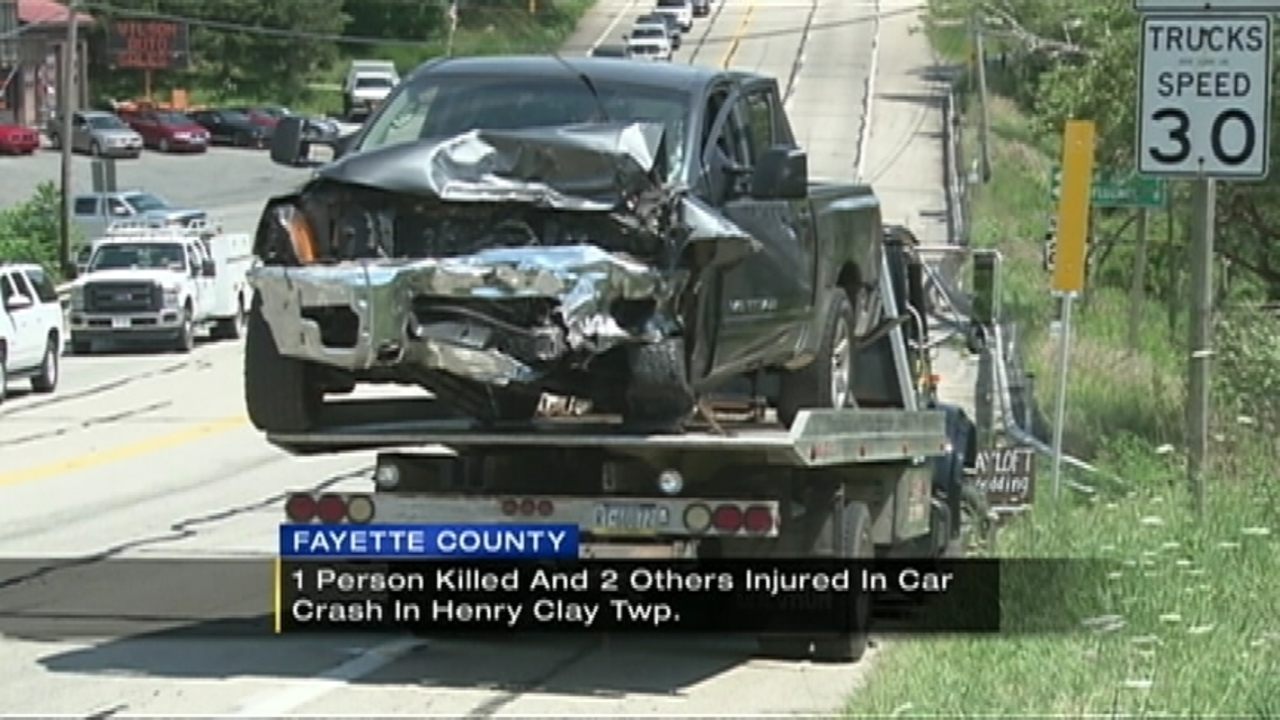 1 killed, 2 injured in Fayette County crash | WPXI