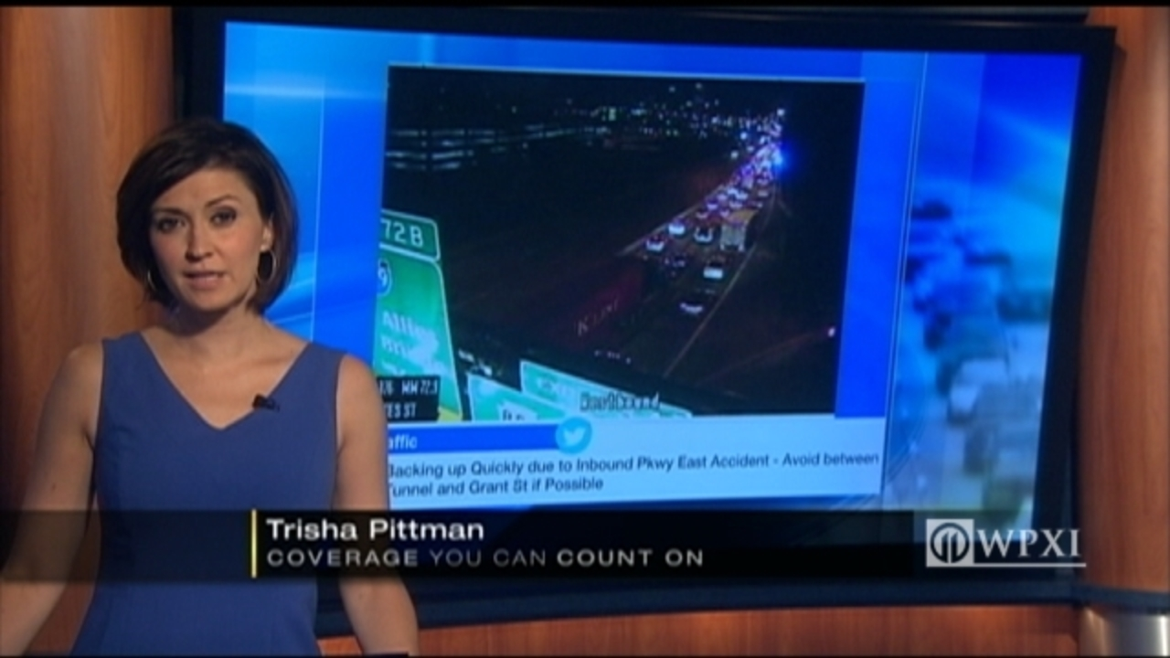 Accident caused significant delays on Parkway East during    - WPXI
