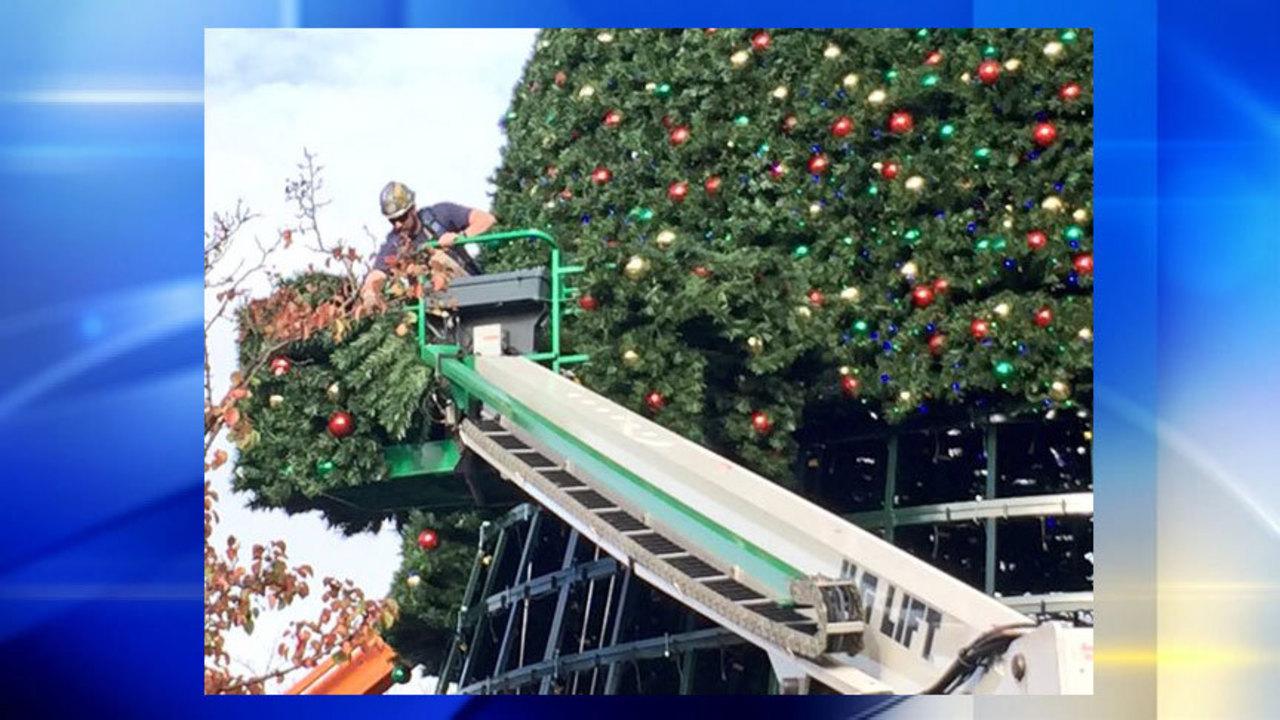 90-foot Christmas Tree highlights Kennywood\'s \'Holiday Lights\' event ...