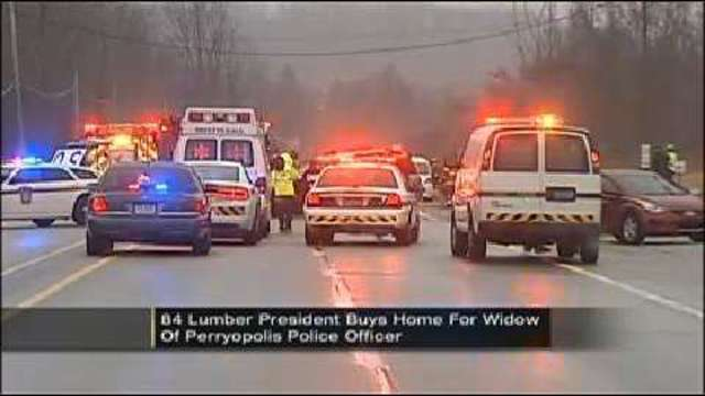 84 Lumber Owner Buying Renovating Home For Officers Widow