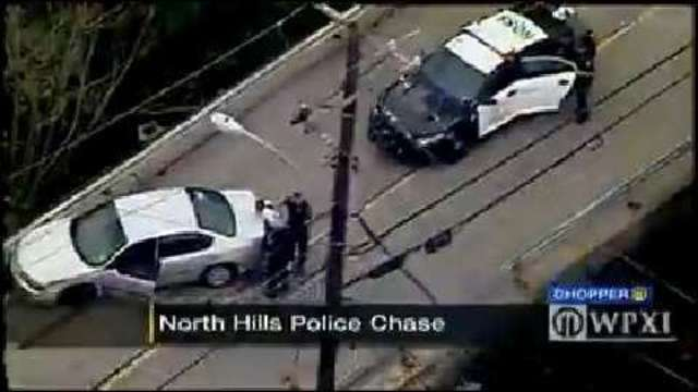 Attempted traffic stop leads to high-speed pursuit through 3