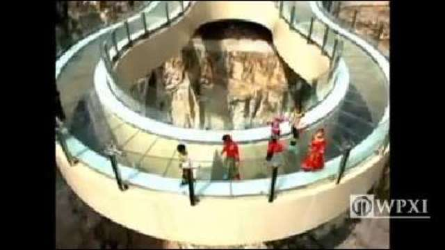 Skywalk In China Opens As Worlds Longest WPXI - China opens worlds longest skywalk