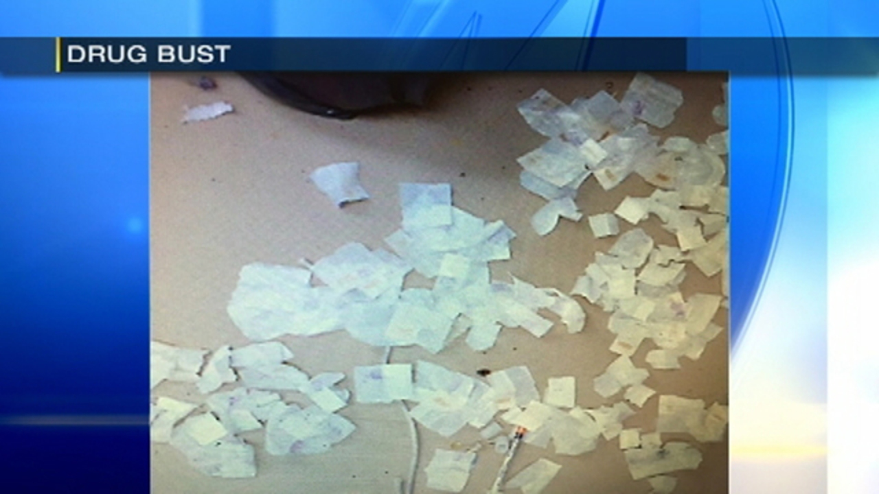 Couple Charged After Police Find Empty Heroin Stamp Bags Needles In Garbage