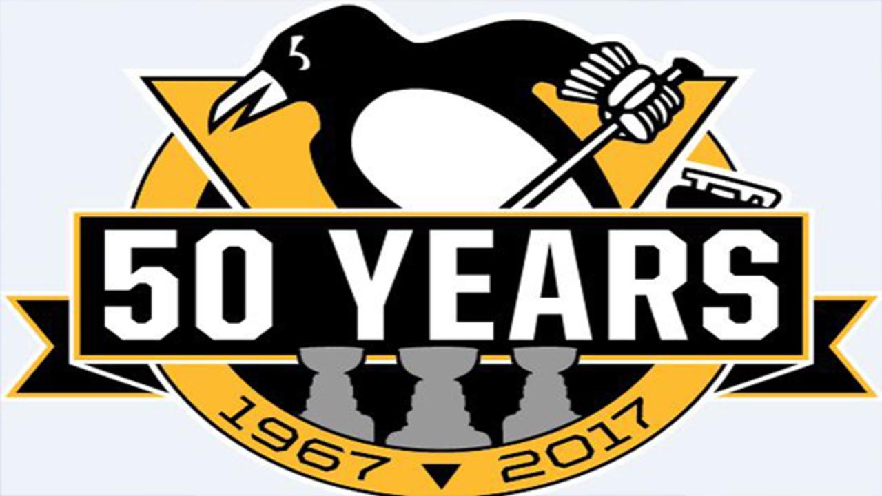 Pittsburgh Penguins Unveil New Logo Celebrating 50th Anniversary