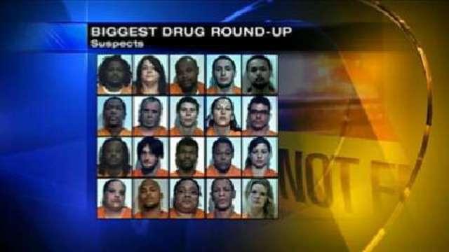 Massive drug roundup in Washington Co  nets more than 50 arrests