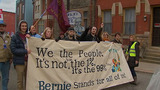 March for presidential candidate Bernie Sanders_8822979