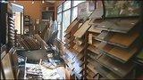 Deer runs through, damages Castle Shannon carpet store