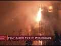 Large fire in Wilkinsburg