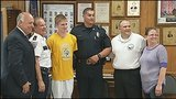 3 people who helped save teen's life honored