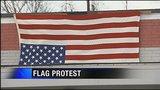 Local GOP official hangs American flag upside down