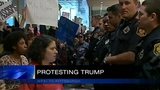 3 arrested, accused of assaulting officers outside Pittsburgh Trump rally