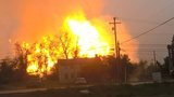Gas line explodes in Westmoreland County