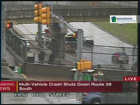 Route 28 Accident Today