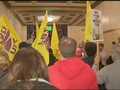 Dozens of protesters attempt to disrupt ALEC meeting in downtown Pittsburgh