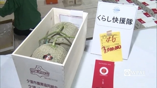 Japanese melons sell for $27,000+ at annual fruit auction