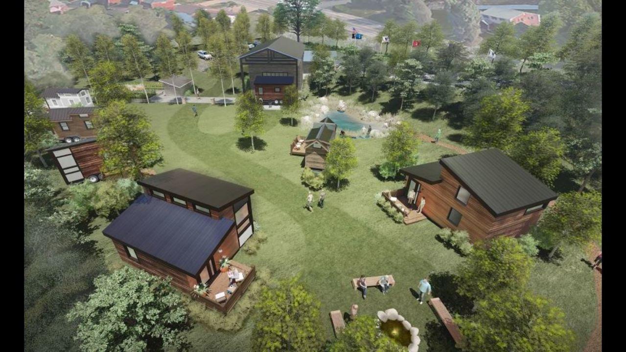 Tiny House Community For Homeless