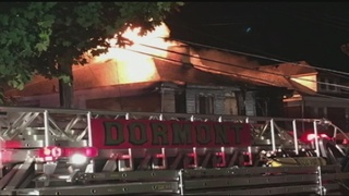 Flames tear through Dormont duplex, forcing residents out