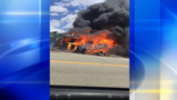 Fire at former strip club spreads to daycare center