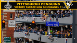 RAW VIDEO: Penguins fans invade downtown for Stanley Cup celebration