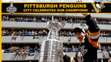 Penguins celebrate, parade through downtown