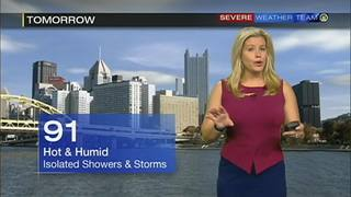 Forecast for tonight, Saturday + 5-day (7/22/16)