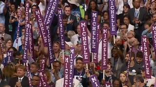 RAW: First Lady Michelle Obama speaks at DNC (Part 1 of 2)