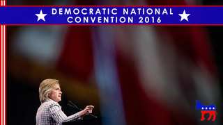 DNC: History and hostility as Clinton ascends to nomination