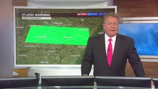 Meteorologist Kevin Benson talks about the threat of flooding (7/30/16)