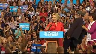 RAW: Hillary Clinton speaks at Pittsburgh rally (Part 1)