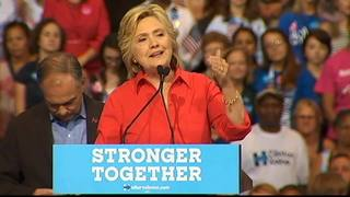 RAW: Hillary Clinton speaks at Pittsburgh rally (Part 2)