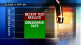 Recent test results of lead levels in Pittsburgh