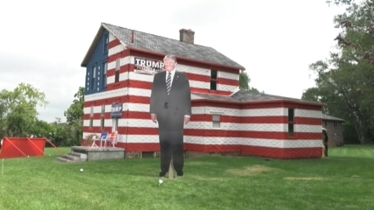 trump tribute u0027 house becomes statewide photo stop wpxi