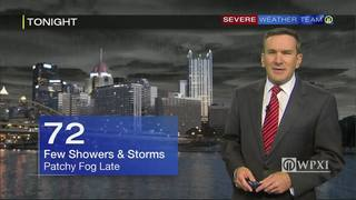 Warm, muggy Thursday could end with showers and storms (8/25/16)