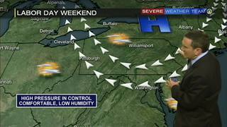 Labor Day weekend forecast (8/29/16)