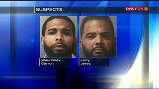 2 men arrested, 3rd sought after stolen credit cards used for $15K in purchases