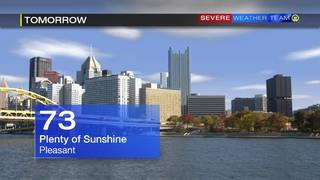 Forecast for Sunday (9/24/16)