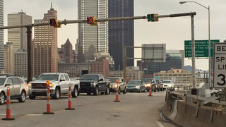 Liberty Bridge reopens with weight restriction