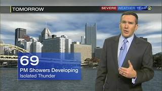 Forecast for today, tonight, Wednesday + 5-day (9/27/16)