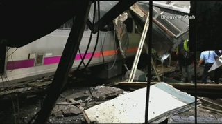 1 killed, dozens injured in New Jersey train crash