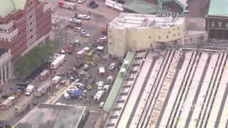 RAW: Aftermath of New Jersey train crash