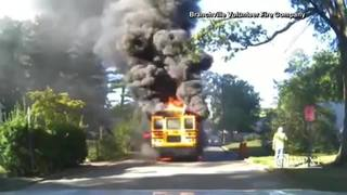 School bus driver gets hero