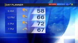 Day planner for Saturday (10/1/16)