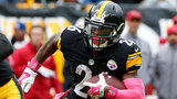 FILE - In this Oct. 18, 2015, file photo, Pittsburgh Steelers running back Le'Veon Bell carries the ball during a game against the Arizona Cardinals in Pittsburgh. Bell returns to the lineup for the Steelers on Sunday against Kansas City.