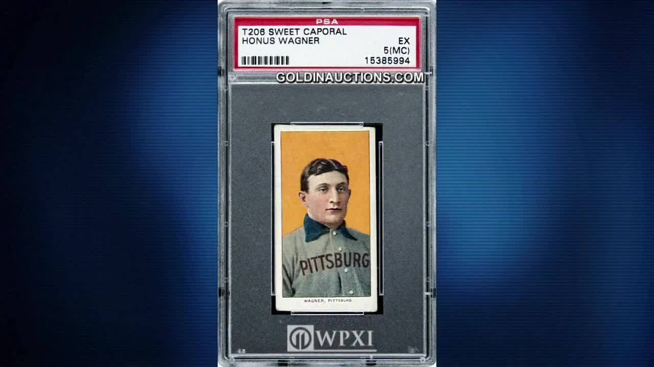 Rare Honus Wagner Baseball Card Sells For New Record Price Wpxi