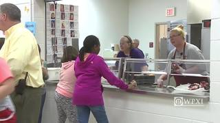 Man pays off all overdue school lunch fees
