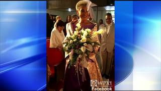 Groom cries at the sight of his radiant 86-year-old bride