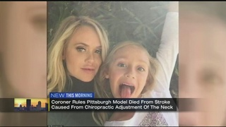 Trip to chiropractor led to former model