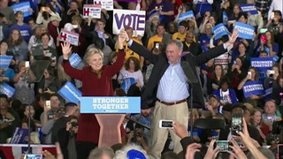 RAW: Hillary Clinton campaigns in Pittsburgh at Taylor Allderdice High…
