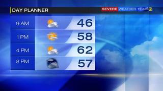 Day planner for Sunday (10/23/16)