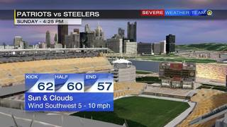 Patriots vs. Steelers Forecast (10/23/16)